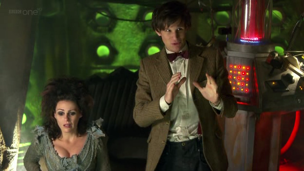 Fanservice : A mild one-when the TARDIS sits down, you can see her ...
