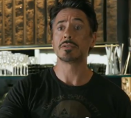 Tony Stark and I share the same reaction to the trailer