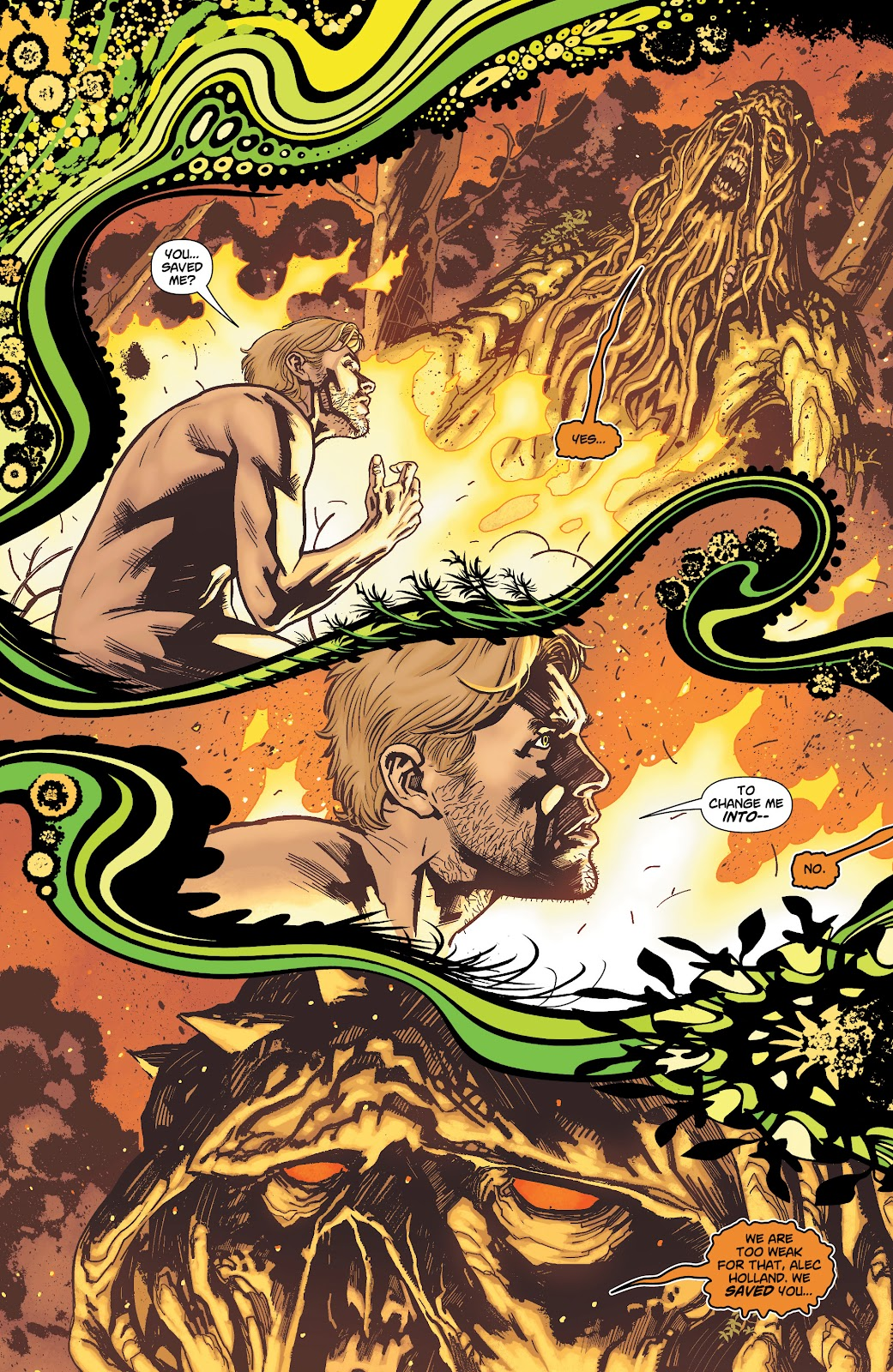 Swamp Thing Page
