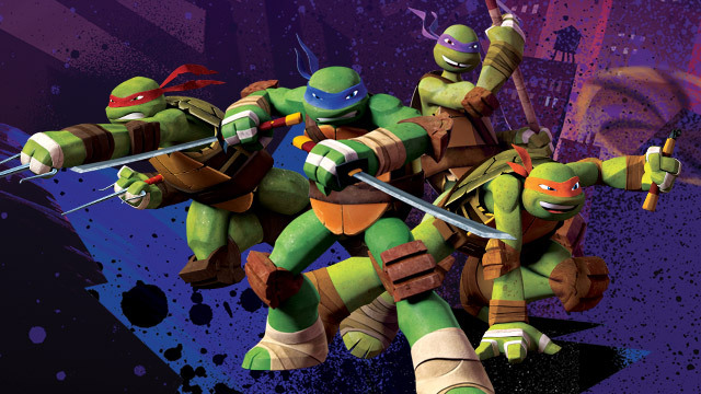 Nickelodeon-Cast-Of-Teenage-Mutant-Ninja-Turtles-Donatello-With-Bo-Staff-Raphael-With-A-Pair Of-Sai-Action-Figures-Toys-Dolls