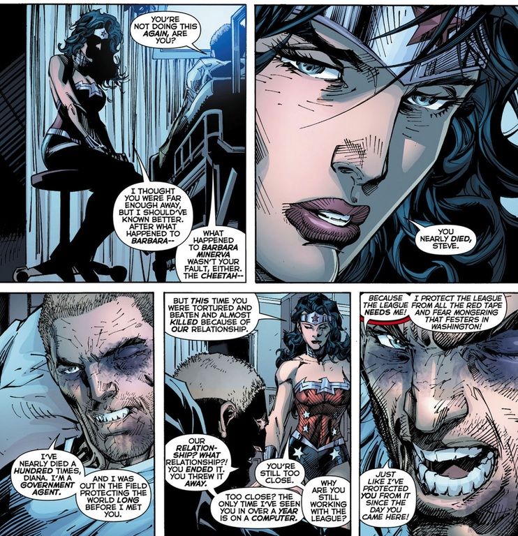 superman and wonder woman new 52 relationship problems
