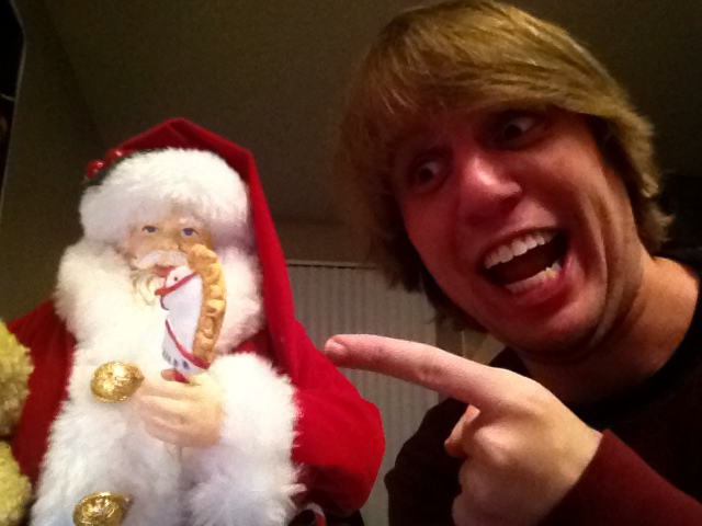 From the bowels of S.T.R.A.T.U.S, Dr Disaster discovers the christmas spirit