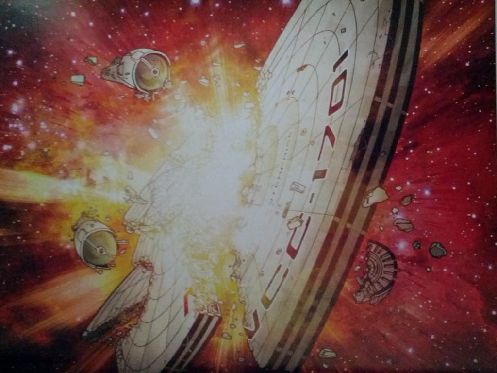 Enterprise explodes