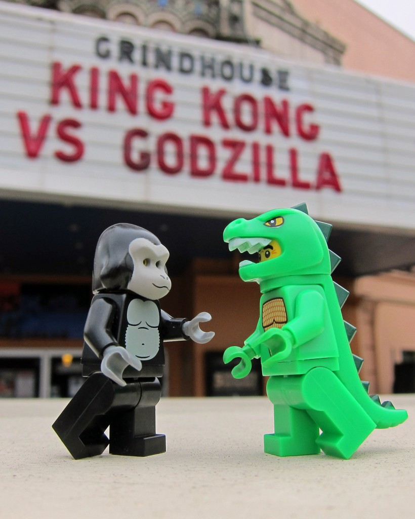 "King Kong vs. Godzilla by Chris ""cjdc"" Christian"