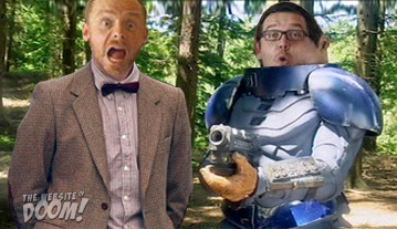 Simon Pegg and Nick Frost as the new Doctor Who