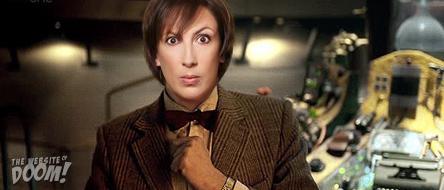 Maranda Hart as the BBC's new Doctor Who