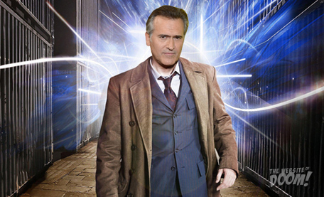 Bruce Campbell as the BBC's new Doctor Who