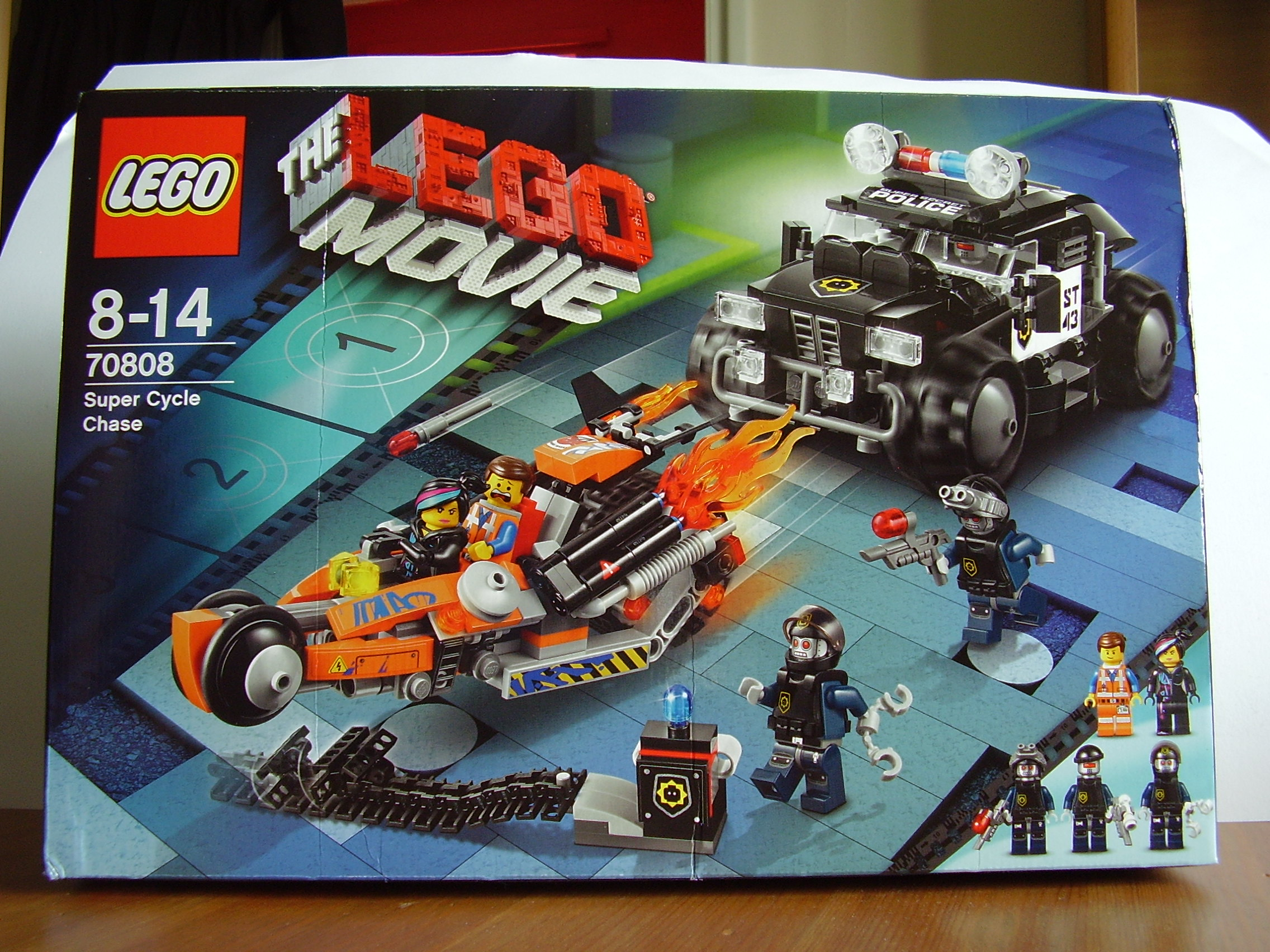 mint in box the lego movie super cycle chase review the website