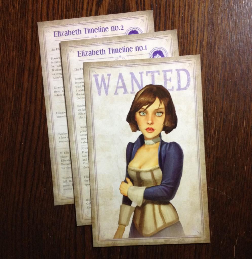 Elizabeth timeline cards.