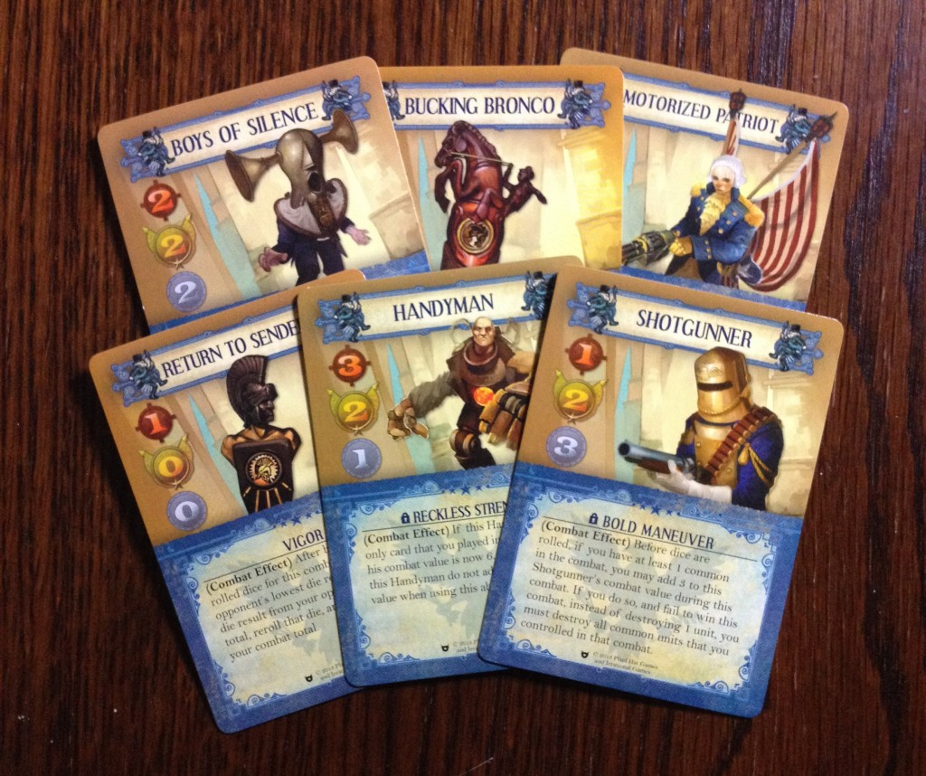 Bioshock unit cards