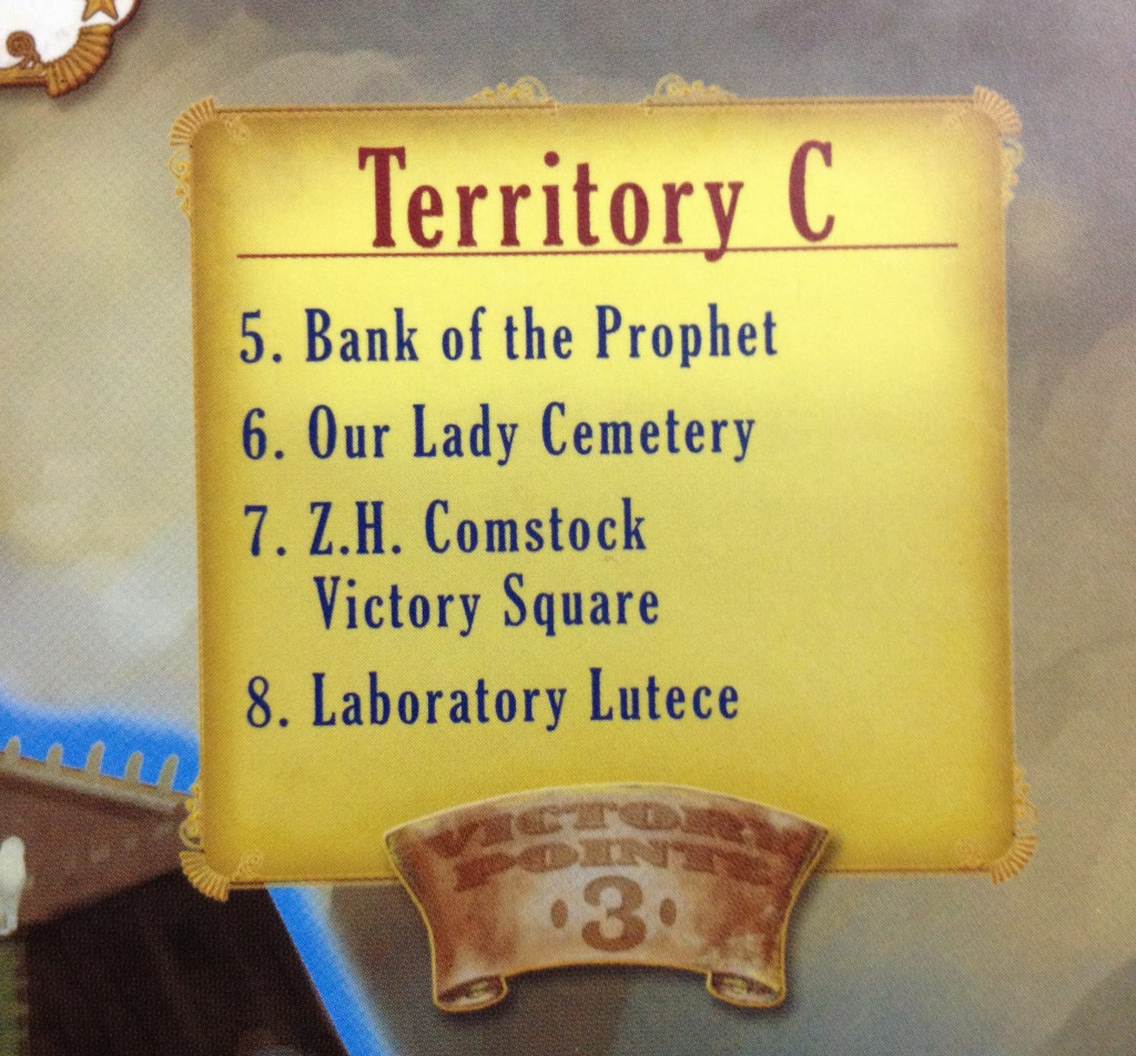 Territory marker