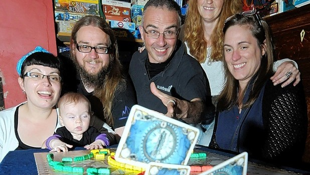The Great Derby Board Game Bash