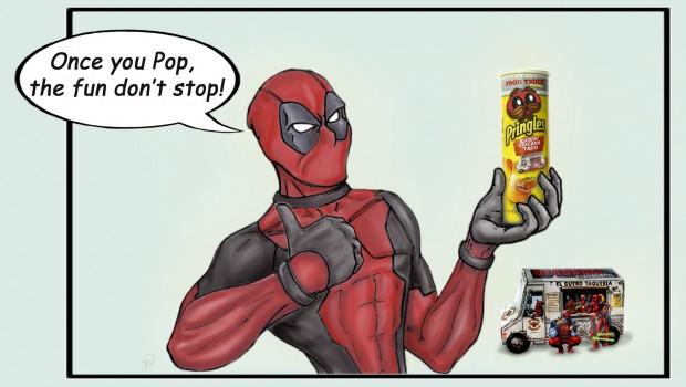 Deadpool Once you Pop