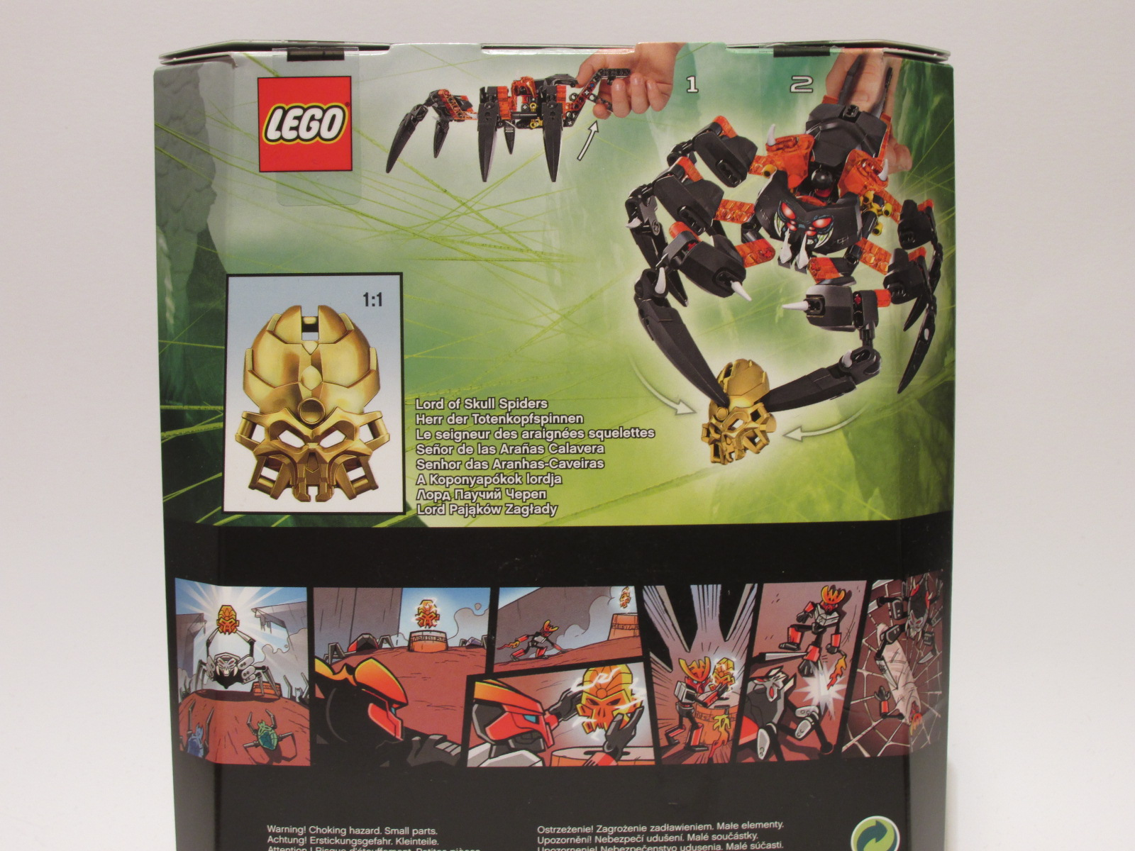 Mint In Box Lego Bionicle Lord Of Skull Spiders The Website Of Doom