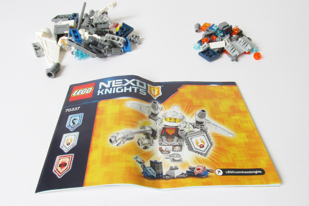 Mint in Box: LEGO NEXO Knights – Ultimate Lance & Axl | The