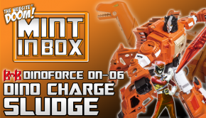 mint in box_black mamba_DINOFORCE_power rangers dinobot_sludge_doom