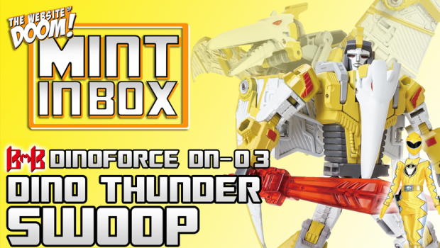mint in box_black mamba_DINOFORCE_power rangers dinobot_swoop_doom