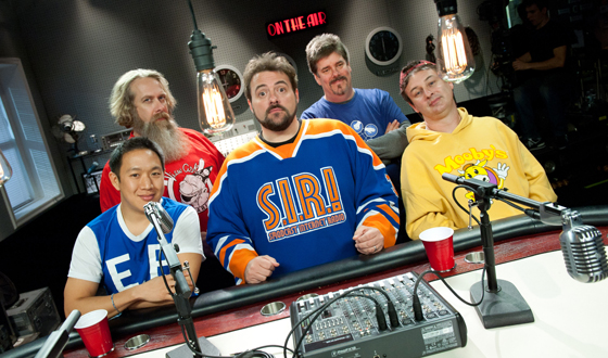 The cast of Comic Book Men