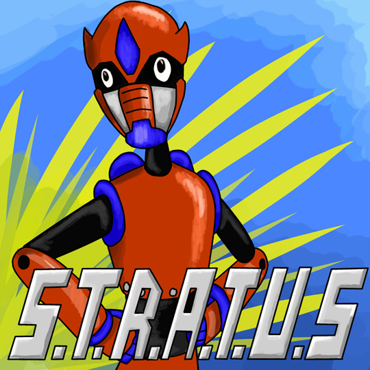 Stratus podcast logo - the website of doom!