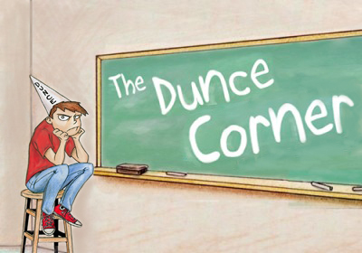 dunce logo red shirt_edited-1