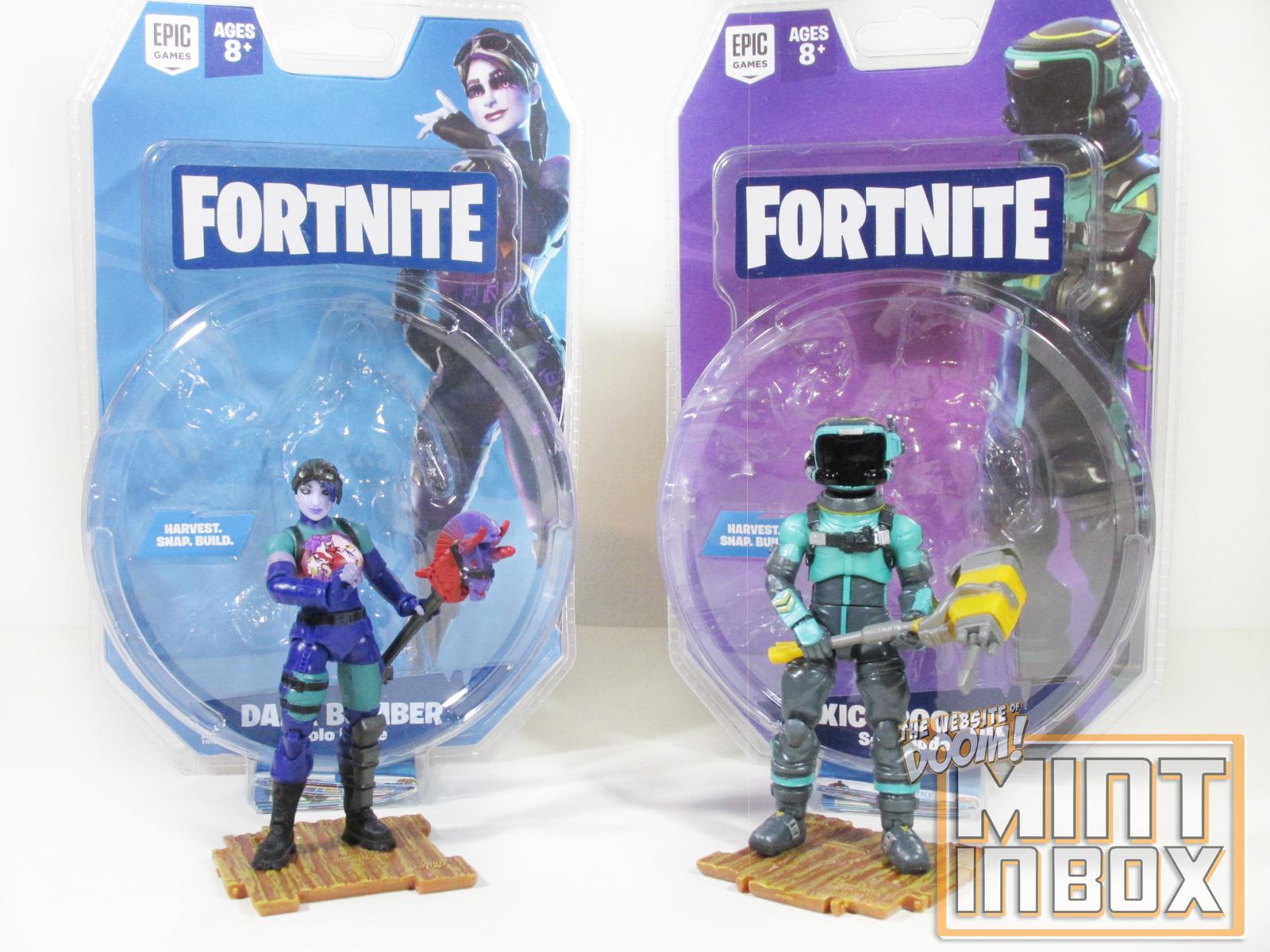 Mint in Box: Jazwares Fortnite – Dark Bomber and Toxic